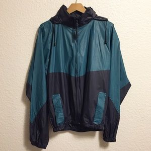 Coleman Outdoors PVC Unisex Rain Jacket Blue